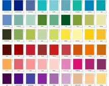 Twin, Full, Queen, King, Cal K. & Crib - Box Pleat Bed Skirt - 72 colors collection - Choose your fabric