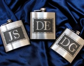 12 Gifts for Groomsmen Flasks, Personalized Groomsmen Gifts for Men