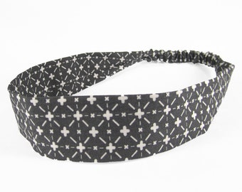 """Fabric Headband - Moonlight - Pick your size - fit toddlers to adults - 1-1/2"""" wide"""