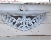 ON SALE Shelf, Shabby Chic Shelf, Wall Decor, SHIPPinG Not inCLUdeD