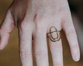 Triple Hoop Ring