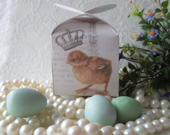 Box Of Miniature Egg Soaps. Guest Soaps
