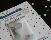 Custom confetti Invitation-Includes small packet of confetti-wedding invitation