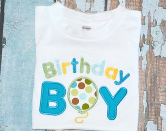 Birthday Boy Shirt, Boys Birthday Shirt