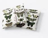 Lavender Sachets, Gift for Mom, Grandma, Aunt, Mother's Day, Moths Insects Butterflies Pillow Sachets