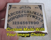 Pill Box 8 Day with Mirror Custom Made With Your Image Choice