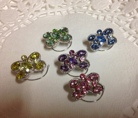 Wedding Hair Swirls-Butterfly Hair Jewels-Rainbow Hair Spins-Hair Spirals-Hair Coils