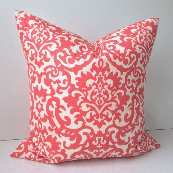 Decorative Throw Pillow Cover Coral Pillow Cushion By