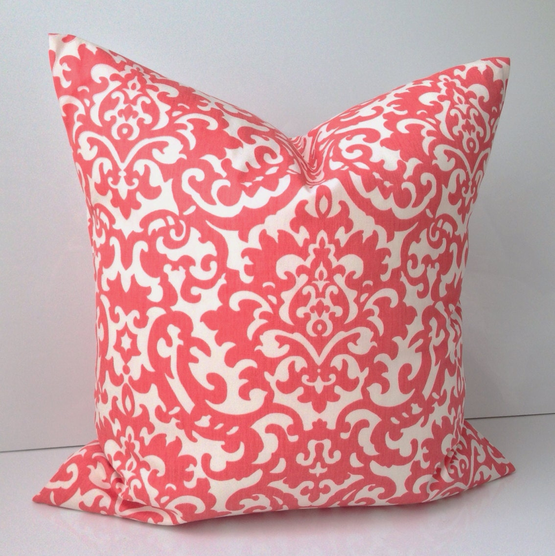 Throw Pillows With Coral : Decorative Throw Pillow Cover Coral Pillow Cushion by nestables