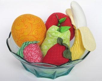 Fun Play Fruit - Cotton Pretend Food