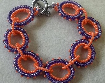 Circle Circus Bracelet PDF Bead Weaving Tutorial (INSTANT DOWNLOAD)
