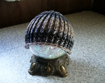 Toddler Knitted Hat in Browns