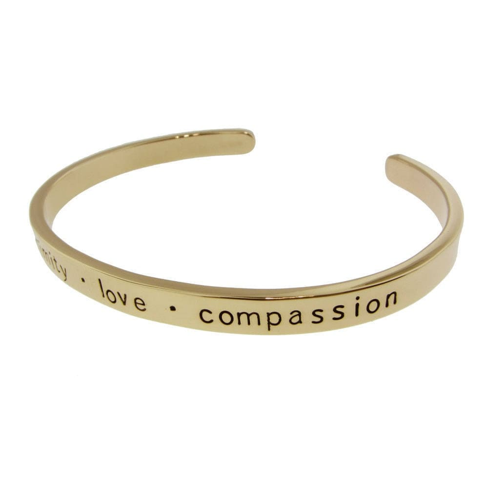 personalized 14k gold cuff bracelet by metalpressions