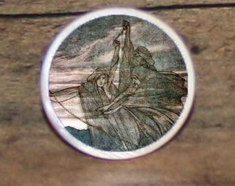 Greek myth THE FATES Tie tack or Cuff links or Ring or Pendant or Brooch