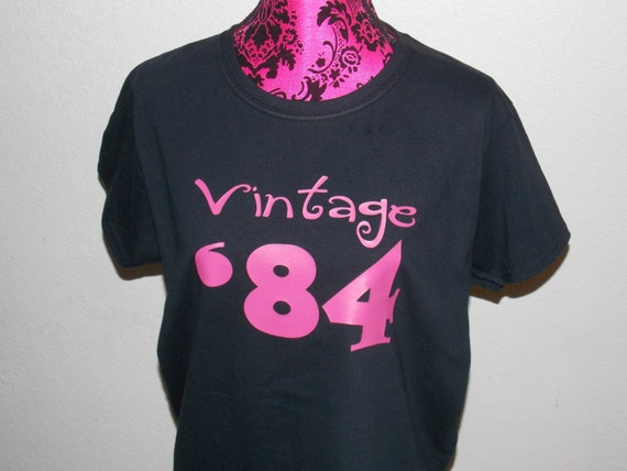 Shirt Vintage 84 Adult 30th Birthday Gift