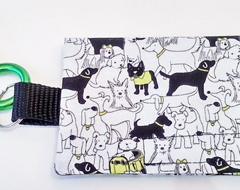 The Bag Buddy - Dog Mess Bag Pouch / Poop Bag Holder / Dog Poo Bag / Pet Leash Purse / Dog Waste Bag / Pet Mess / Pet Accessories / Handmade