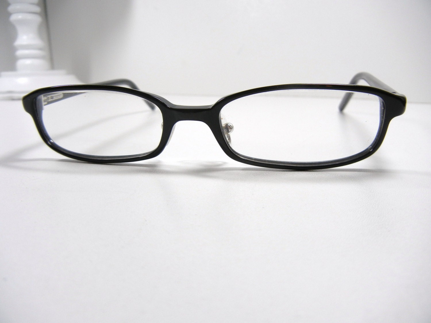 Glasses Frames Made In Italy : Authentic GUCCI Eyeglasses / Black 135 / Made in Italy / Back