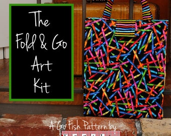 The Fold & Go Art Kit (Instant Download) The Go Fish Series