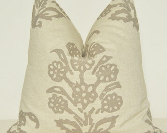 Taupe Pillow, Handmade Pillow, Decorative Pillow, Throw Pillow, Sofa Pillow, Toss Pillow, Home Furnishing, Home Decor, Pillow Case