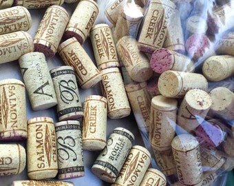 200 Natural Wine Corks, used
