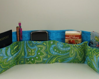 Mini Purse /  Briefcase  Organizer Insert with velcro close- Choose fabric from Chart in Picture 5
