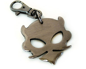 Lil' Lou Devil Key Chain/ Keychains Online/ Devil Keychain/ Devil Charm/ Gift For Men/ Groomsmen Gifts/ Cool Keychains