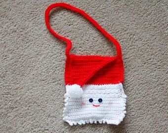 Child's Santa Purse