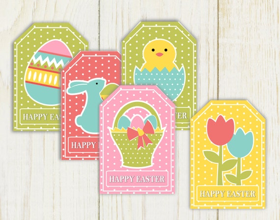 Printable Easter Favor Tags