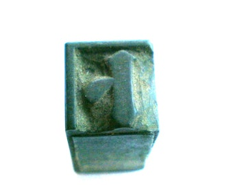 Vintage Japanese Stamp - Vintage Wood Stamp - Kanji Stamp - Chinese Character Stamp - Rubber Stamp - Fortune Telling Prophesy