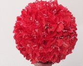 """12"""" Wide Extra Large Kissing Ball Pomander Daffodil Hanging Flowers"""