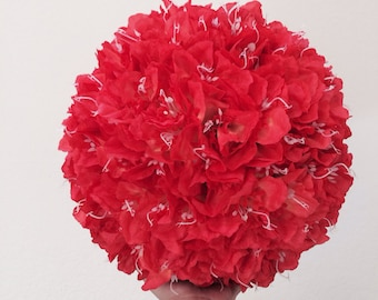 Large  Kissing Ball Pomander Daffodil Flowers