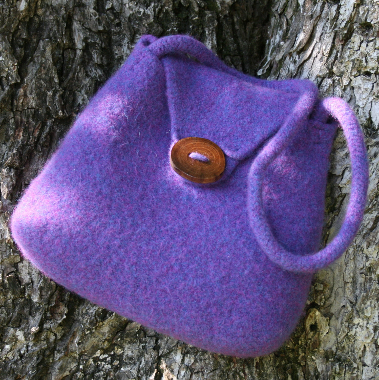 Hand Purse Patterns : Pattern Felt Purse Hand Knit Felted Purse by leedrasheirloomgoods
