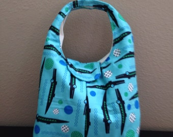 Insulated Lunch Bag - Alligators
