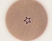 1.5mm Tiny Star Metal Design Stamp - Metal Jewelry Stamping Tool The Urban Beader