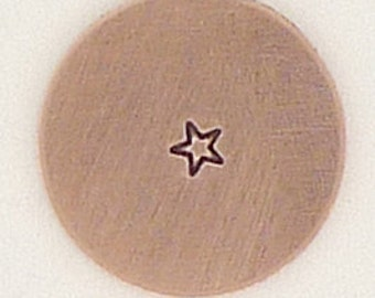 1.5mm Tiny Star Metal Design Stamp - Metal Jewelry Stamping Tool The Urban Beader