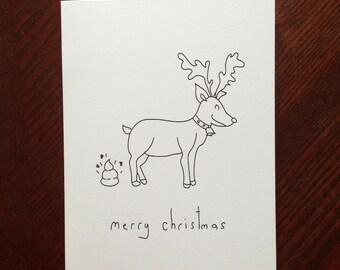 Merry Christmas - Handmade Card