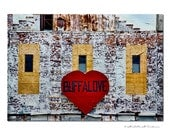 Buffalove Sign , Urban Decay, Buffalo NY, Western NY, Erie county, Black rock canal fine art photographic print