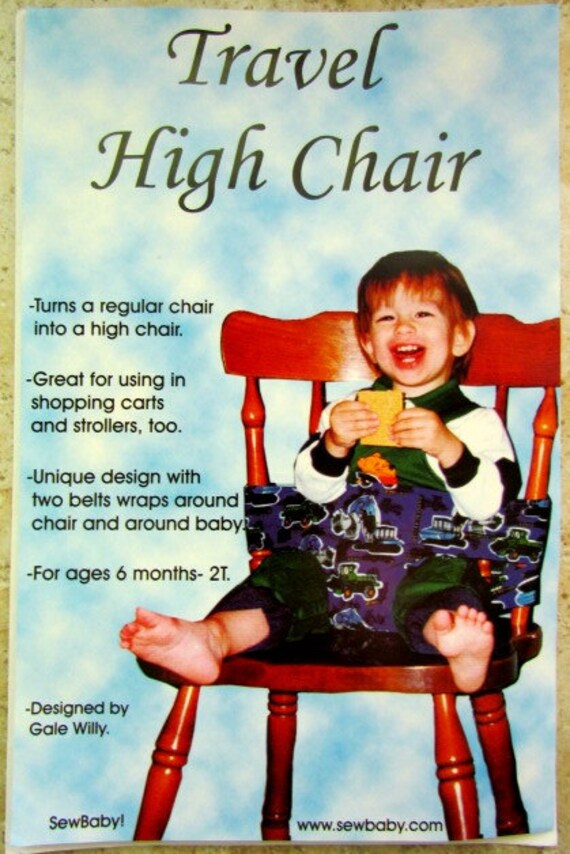 baby 39 s travel high chair pattern sewing pattern 6 by. Black Bedroom Furniture Sets. Home Design Ideas