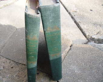 Vintage Books Jane Eyre and Wuthering Heights by Charlotte and Emily Bronte