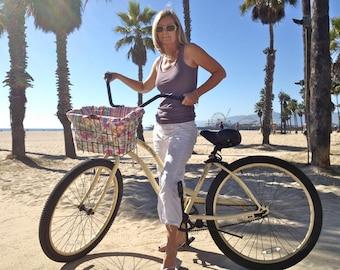 Custom Bicycle Basket Liner / Shoulder Bag