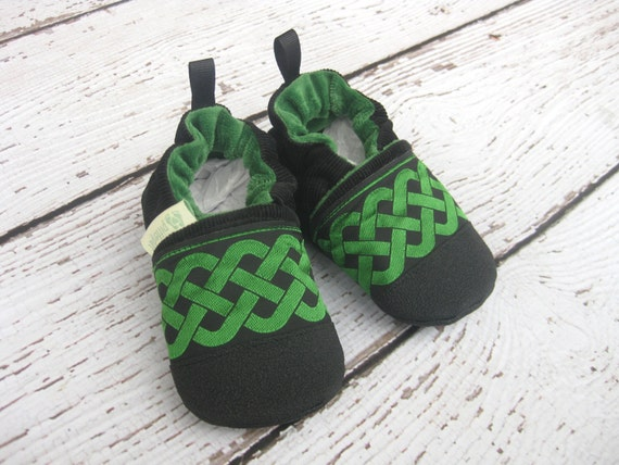 Celtic Soft Baby or Toddler Shoes