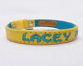 Personalized Cat Collar with Breakaway Buckle