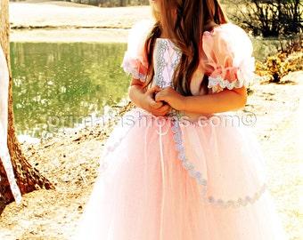 Pink fairy princess tutu costume. full length size 3t