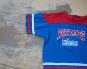 go pats! vintage patriots t shirt small medium