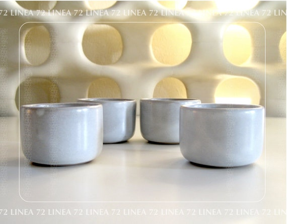 Marshall Studios Pottery Japanese Style Tea Cups by Jane & Gordon Martz