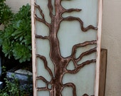 Tree Wall Art - Home Decor - Artistic - Honeystreasures - Wall Hanging - 48 tall and 18 wide