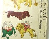 Vintage Stuffed Toy Pattern