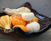 Handmade Bowl coiled ceramic large bowl