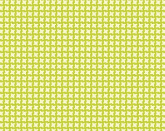 SALE!!! Devon Check.. in Green..Up Parasol by Heather Bailey.. Green/chartreuse colorway...select your cut