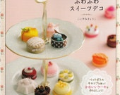 Fluffy Sweets Decoration with Bottle Cap - Japanese craft book